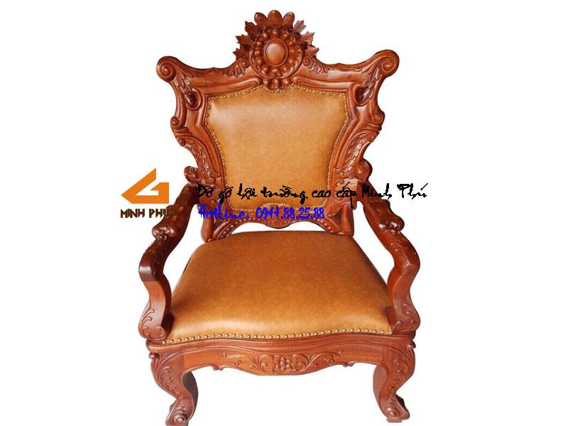 Ghế giám đốc gỗ hương - GGĐ005