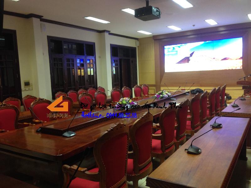 Phòng họp cục C71 - Bộ Quốc Phòng