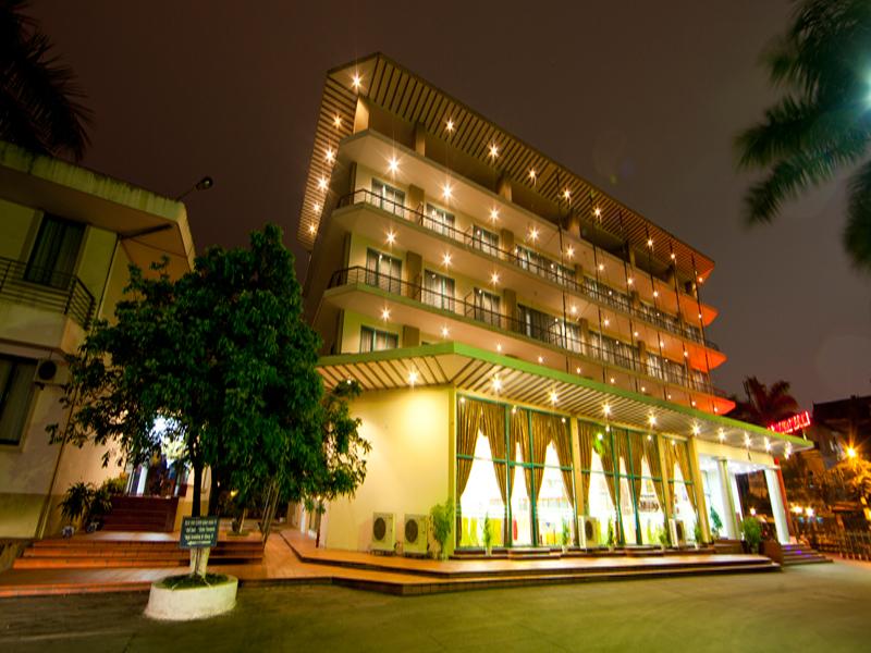 Phòng tiếp khách - Khách sạn Khăn Quàng Đỏ