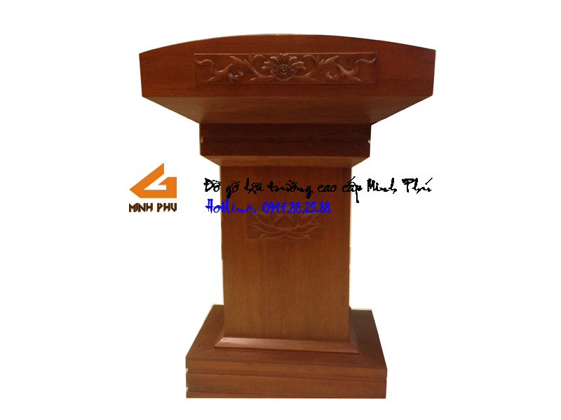 Bục phát biểu gỗ GỤ -BPB001