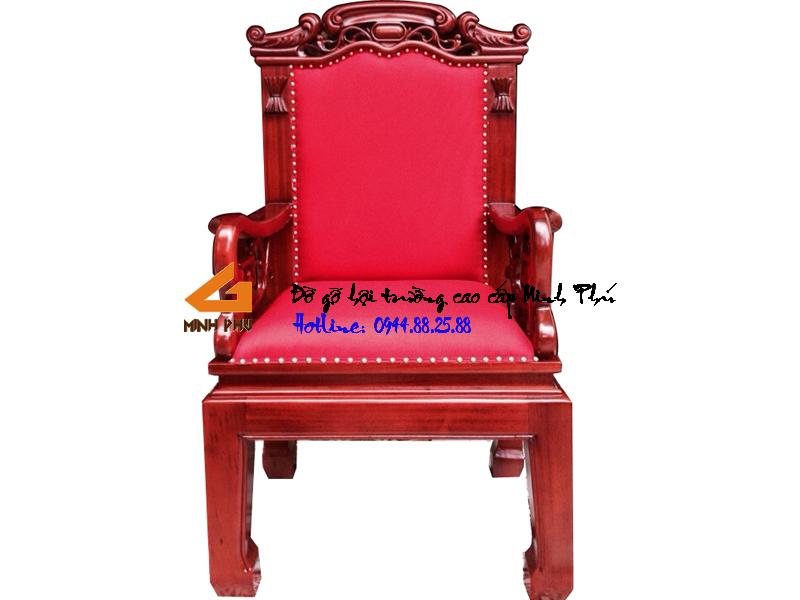 Ghế hội trường gỗ cao cấp -GHT011