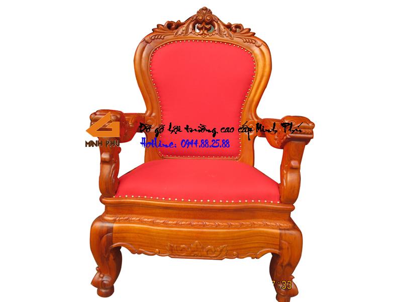 Ghế giám đốc gỗ gụ tự nhiên -GGĐ011